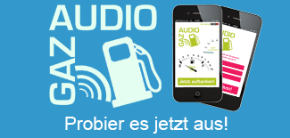 audioGAZ Live-Demo available