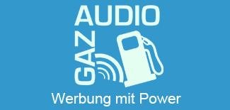AudioGaz - Werbung mit Power